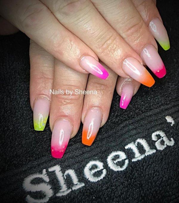 Colorful Summer Nails