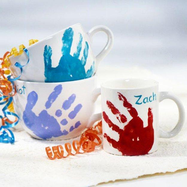 Cute Handprint Mug