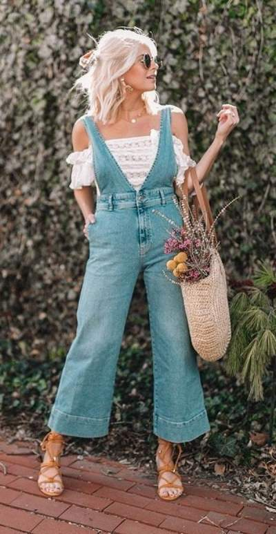 Cutest Denim Outfit