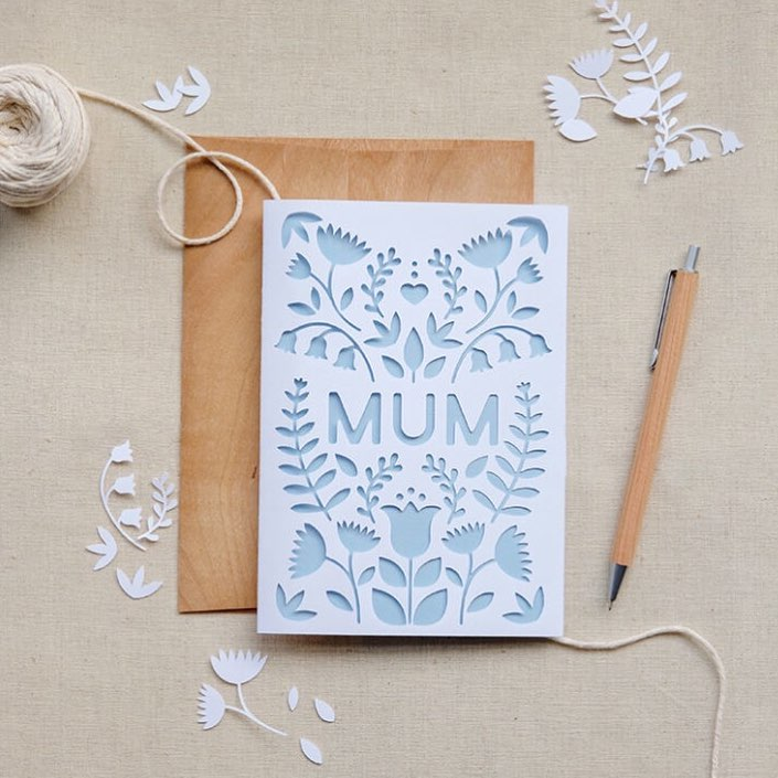 Glamorous Mother's Day Card