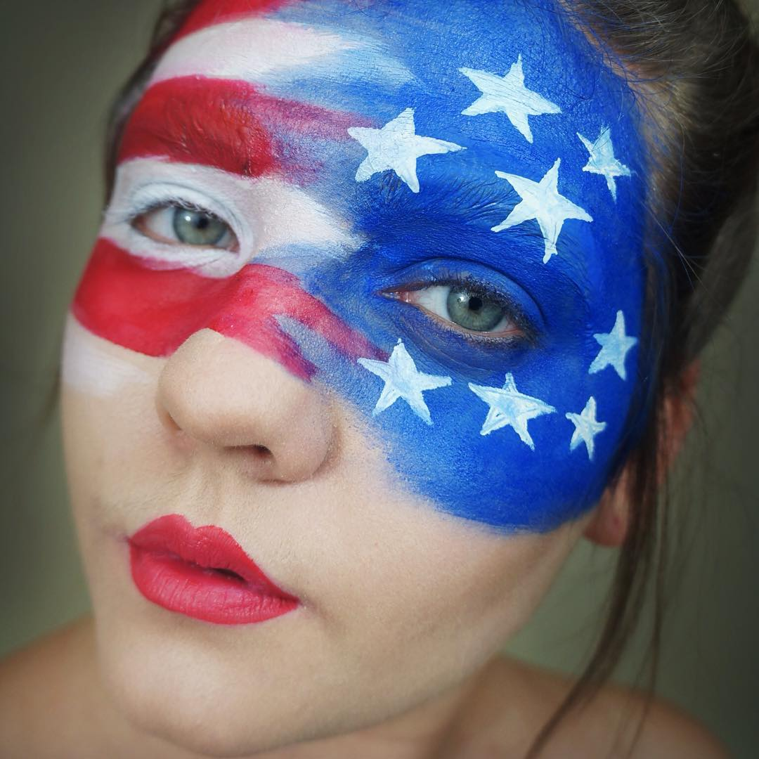 Happy Birthday America With This Lovely Makeup Idea