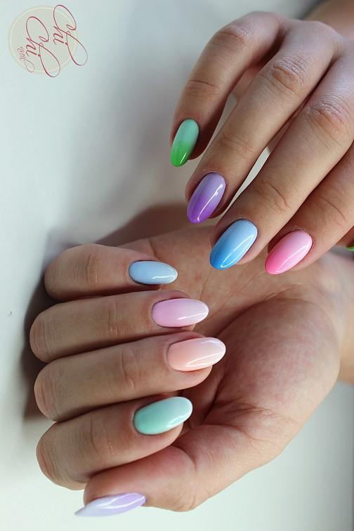 Hybrid Summer Nails