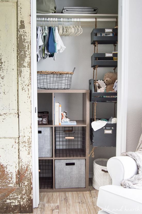Laundry Room Organizer By Crates
