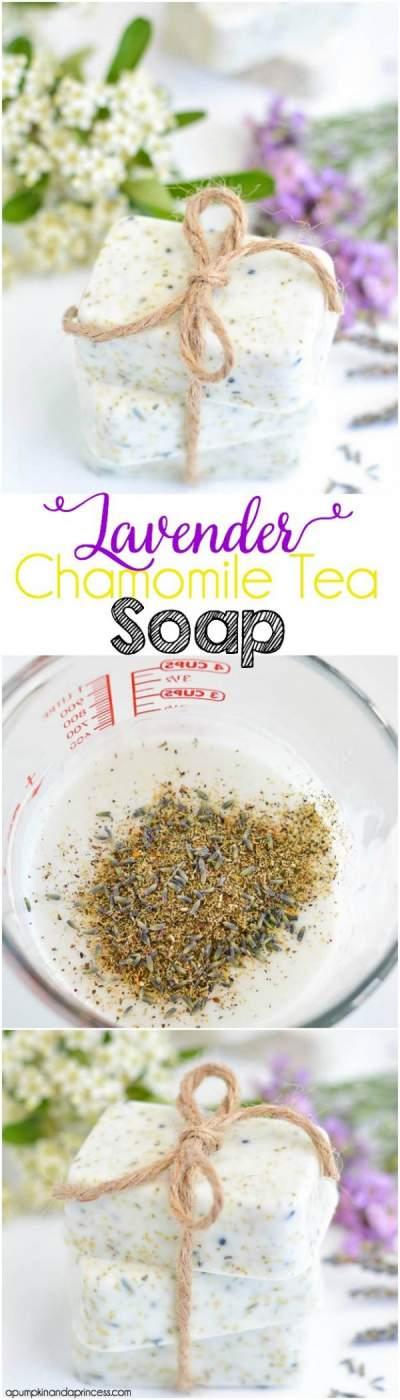 Lavender Chamomile Tea Soap