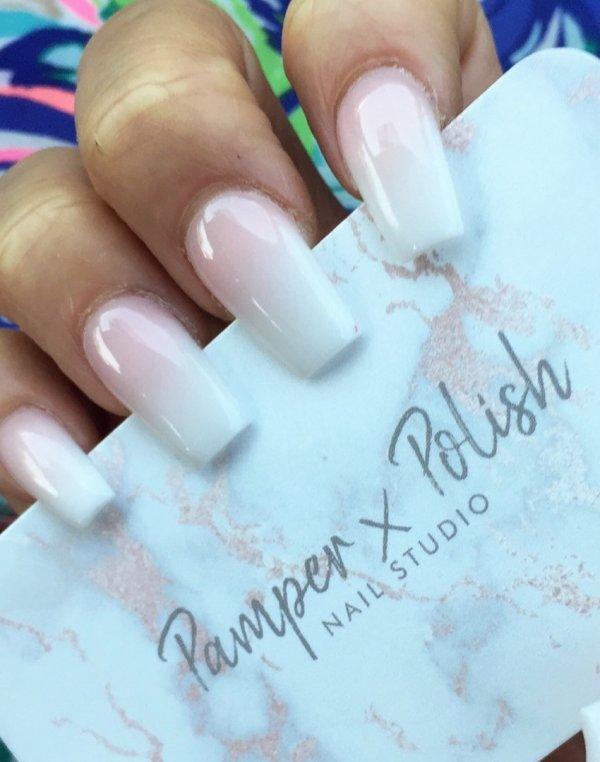 Marvelous White Nails