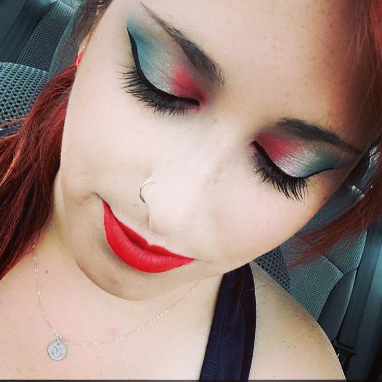 Patriotic Theme Makeup