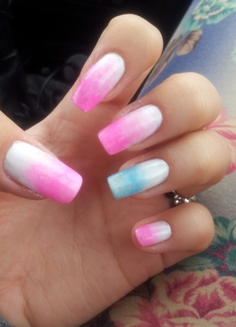 50 Easy And Glamorous Ombre Nail Art Design Ideas For Summer