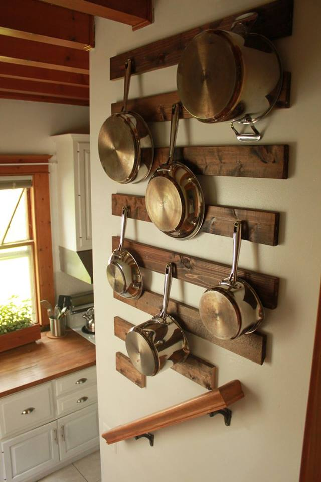 Smart Way To Hang Pots And Pans In Kitchen