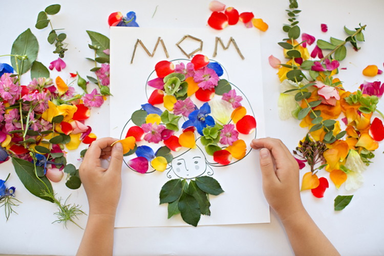 Superb Flower Craft Idea