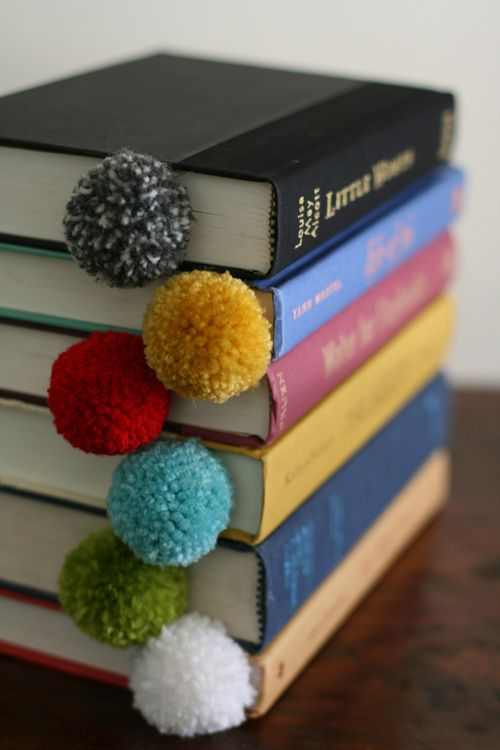 Yarn Ball Book Marks