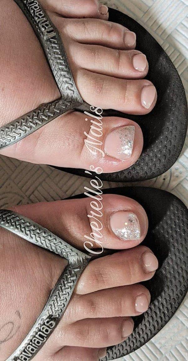 Acrylic Summer Toes