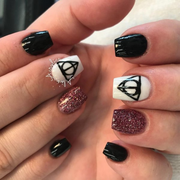 55 Best Harry Potter Nail Art Ideas Collagecab