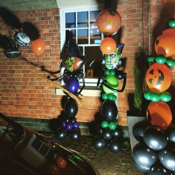 Brilliant Freaky Dracula Balloon for Halloween Outdoor Decor