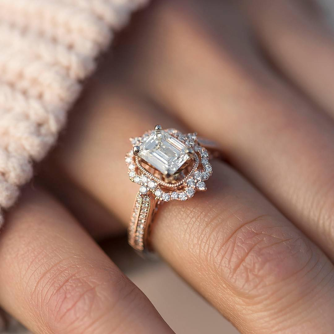 Classic Rose Gold Engagement Ring