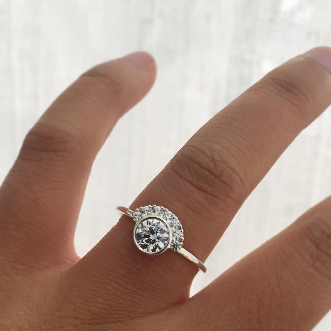 Delicate Designer Ring For Engagement