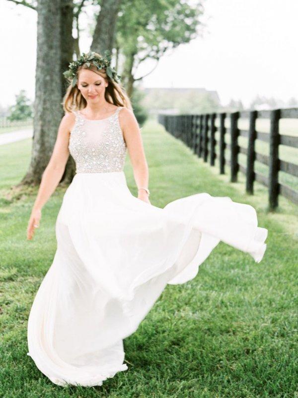 Designer Unique Flowy Bridal Wear