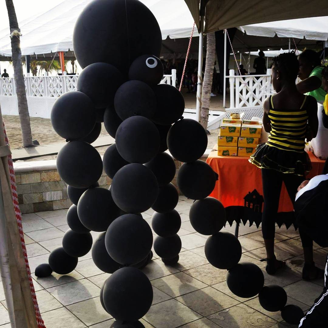 Dreamy Balloon Spider For Kids Party