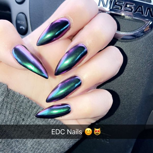 Exclusive Stiletto Nails For Night Out