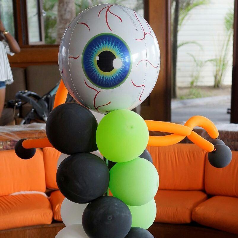 Fantastic Big Eye Ball Balloon For Halloween Decor