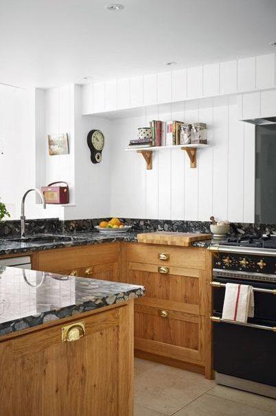 Fantastic Wooden Shelves For Kitchen