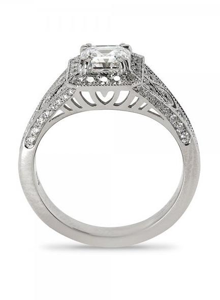 Fashion Friendly Engagement Ring