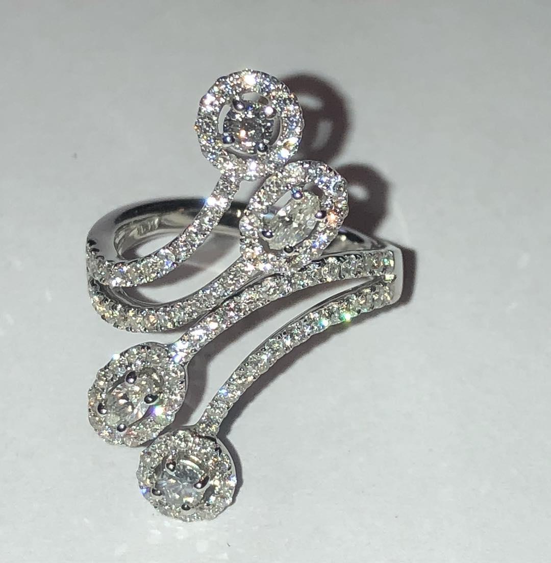 Hi-fashion Bridal Engagement Ring