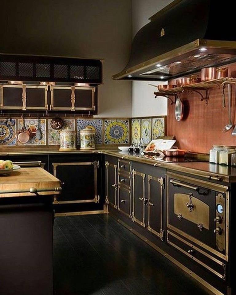 Impressive Steampunk Kitchen Decor