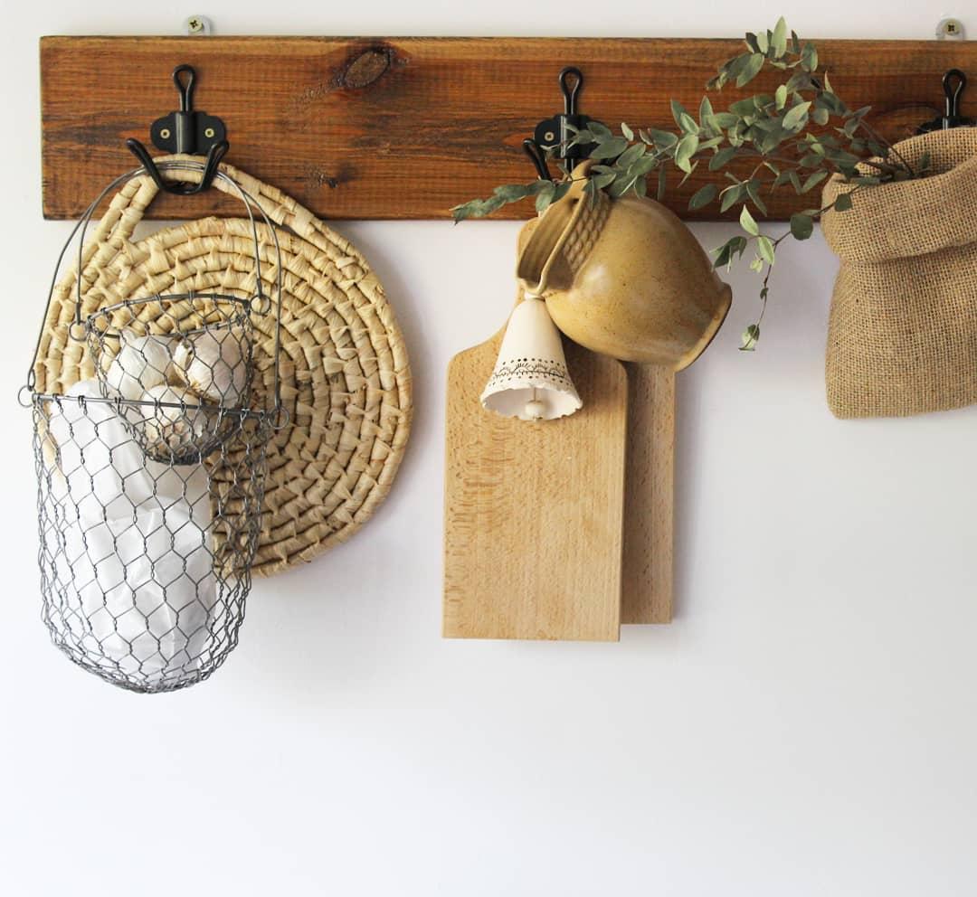 Kitchen Accessories Hanging Idea