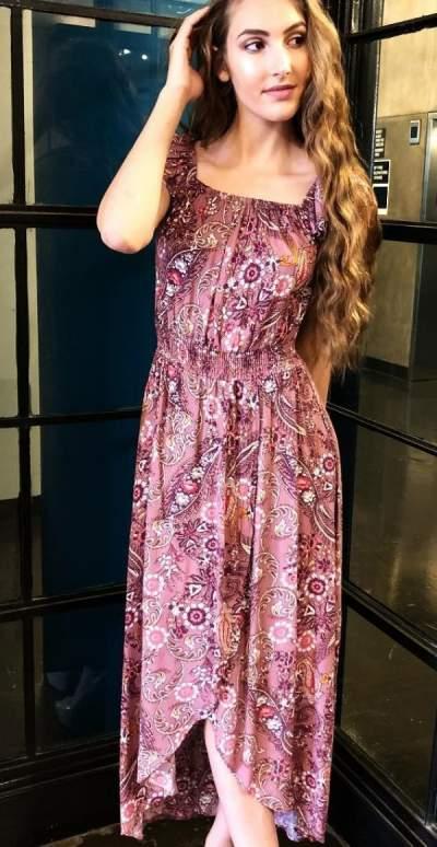 Lovely Summer Friendly Dress
