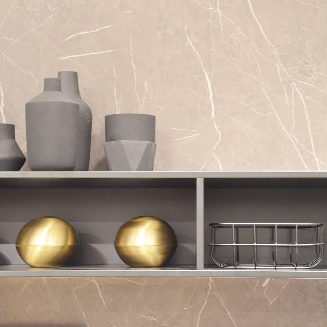 Marble Kitchen Shelf For Kitchen Utensils