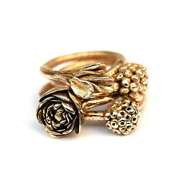 Marvelous 14k Gold Ring For Beautiful Women