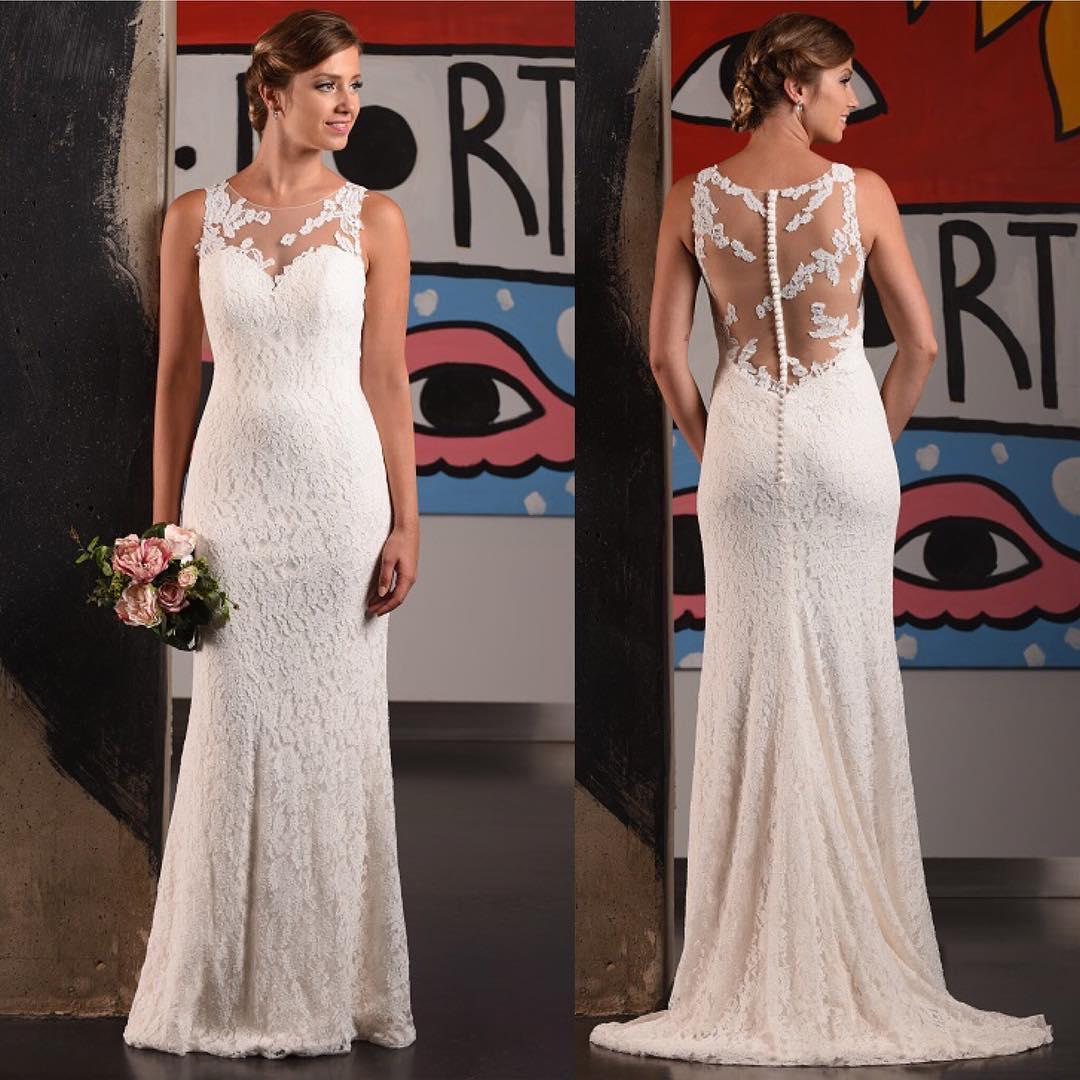 Perfect Lace Bodiac Wedding Gown