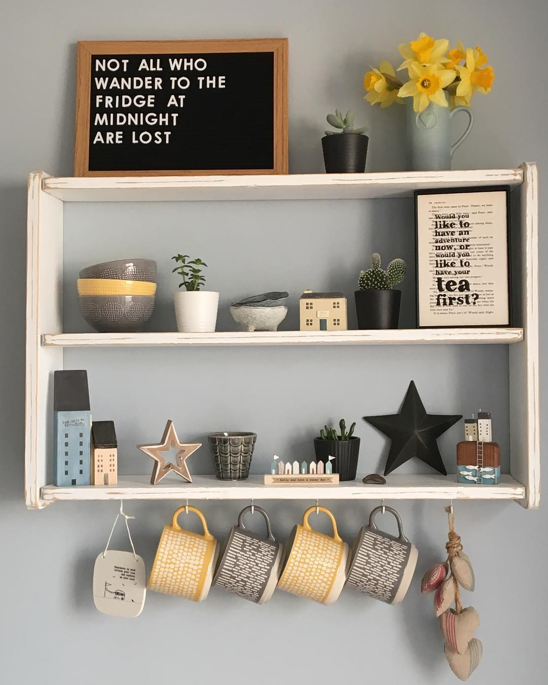 Pretty Multifunctional Wall Cabinet For Kitchen Use