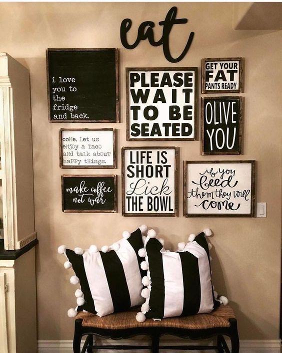 Ravishing Kitchen Wall Decor Idea