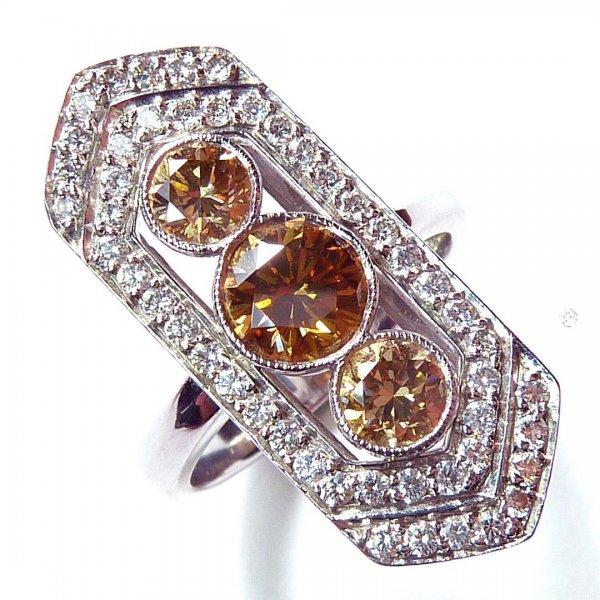 Victorian Style Diamond Ring Design