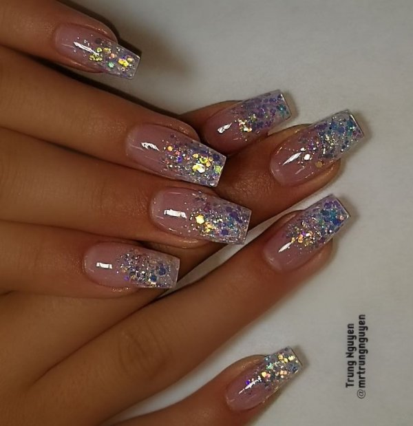 55 Alluring Glitter Nail Art Design Perfect For Every Occasion