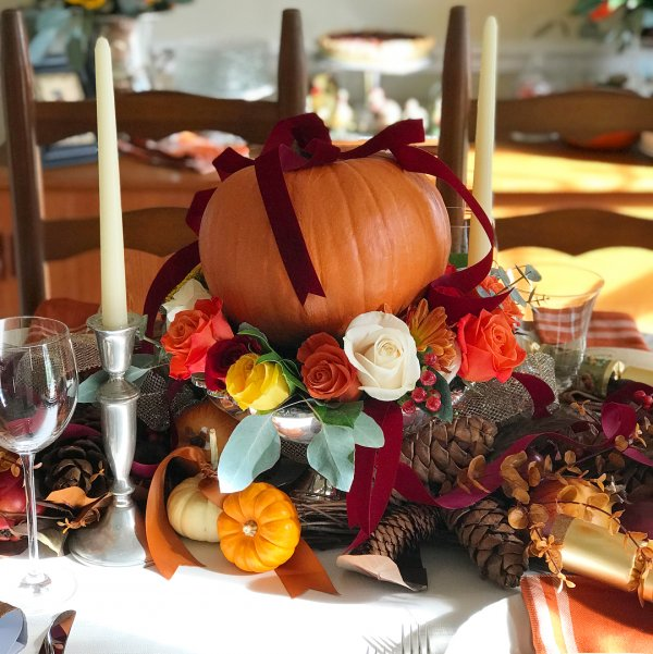 Fabulous Thanksgiving Decoration For Table To Make It Special