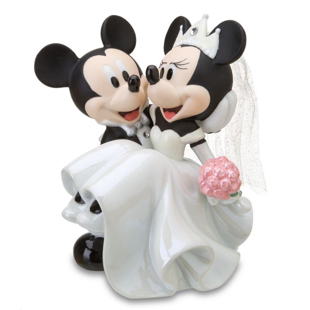 Mickey & Minnie disney wedding cake topper