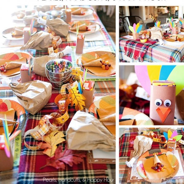 Unique DIY Paper Craft Thanksgiving Decoration For A Perfect Dinner