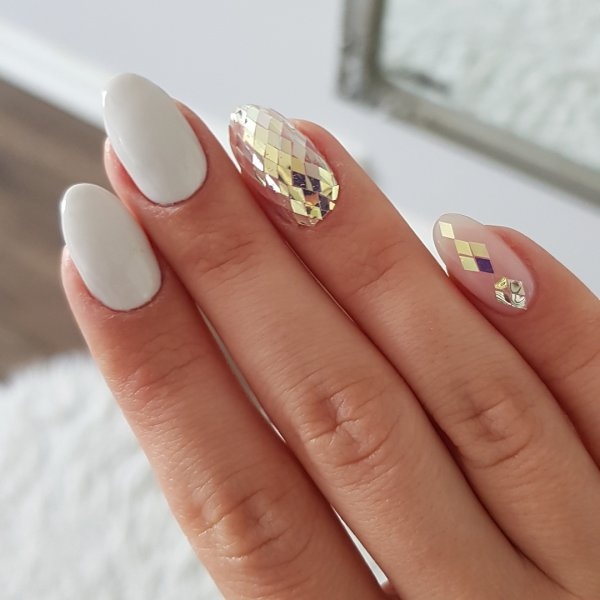 60 Mind Blowing Wedding Nail Art Designs For Beautiful Brides Collagecab