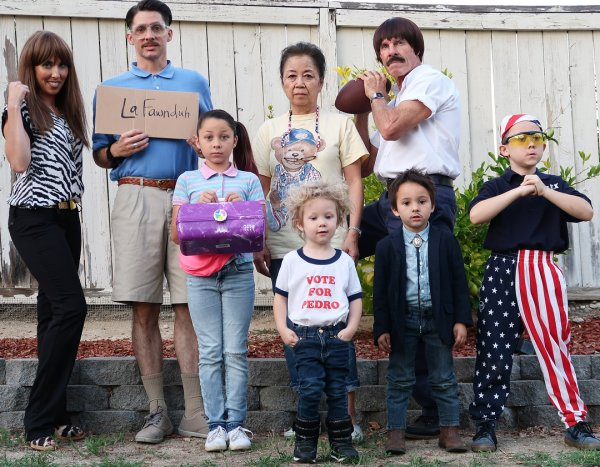 Awesome character costume for family halloween party.