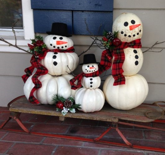 Awesome snowman for festive decor.