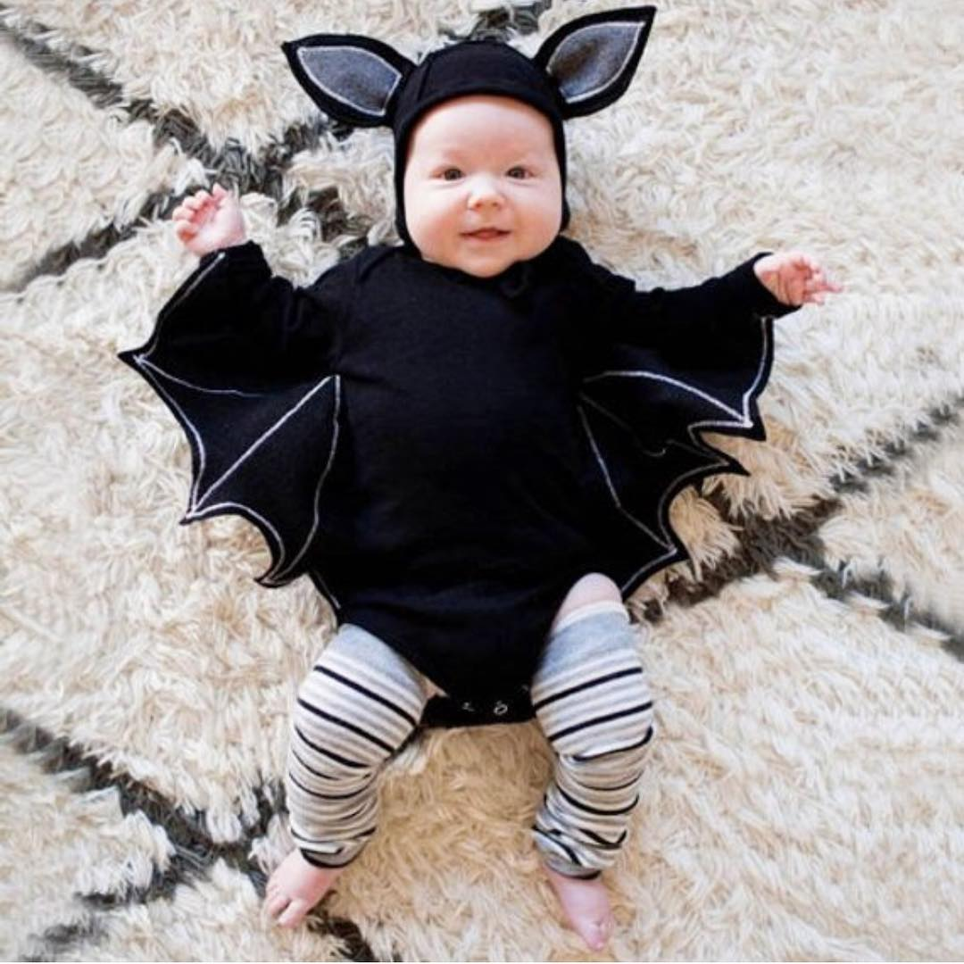 Cool bat costume for your infant.