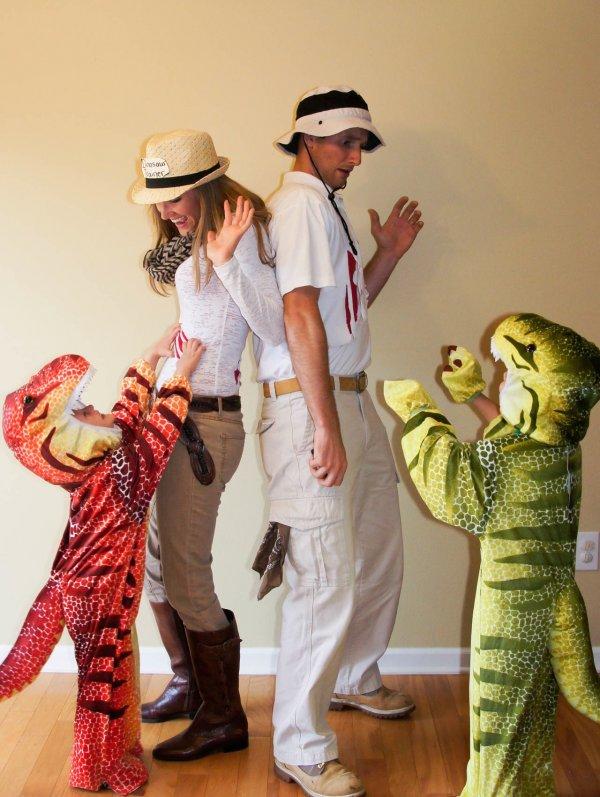 Dinosaur trainers.