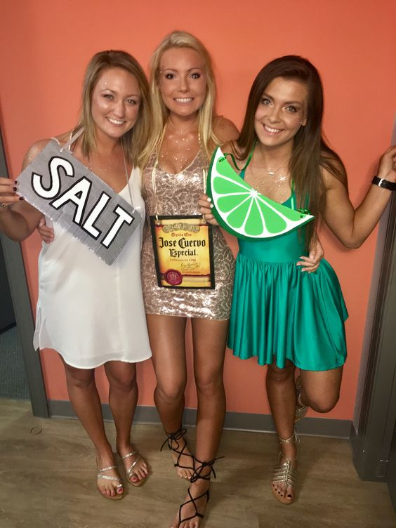 Fabulous Tequila lime and sale Halloween costume.