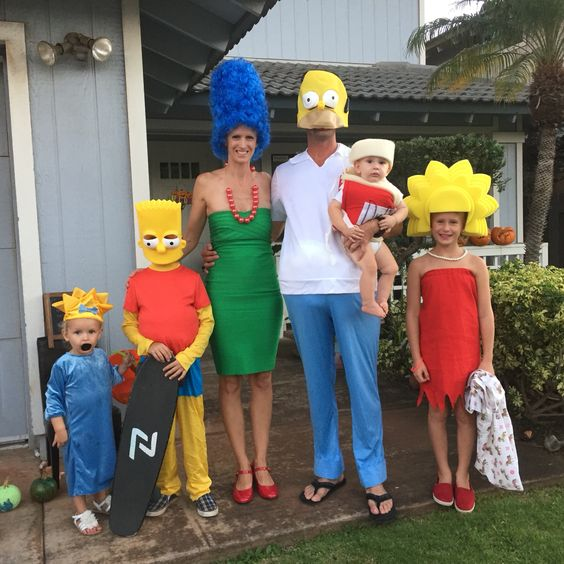 Funny halloween family costumes.