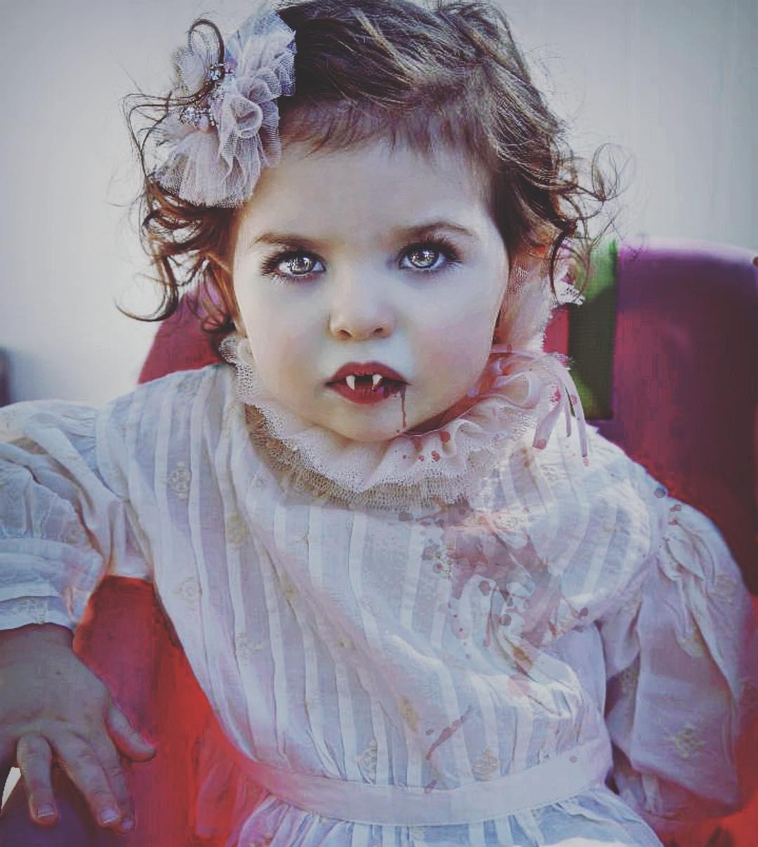 Spooky mumma's little Vampire.