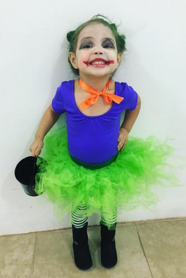 The most beautiful joker which I have ever seen.