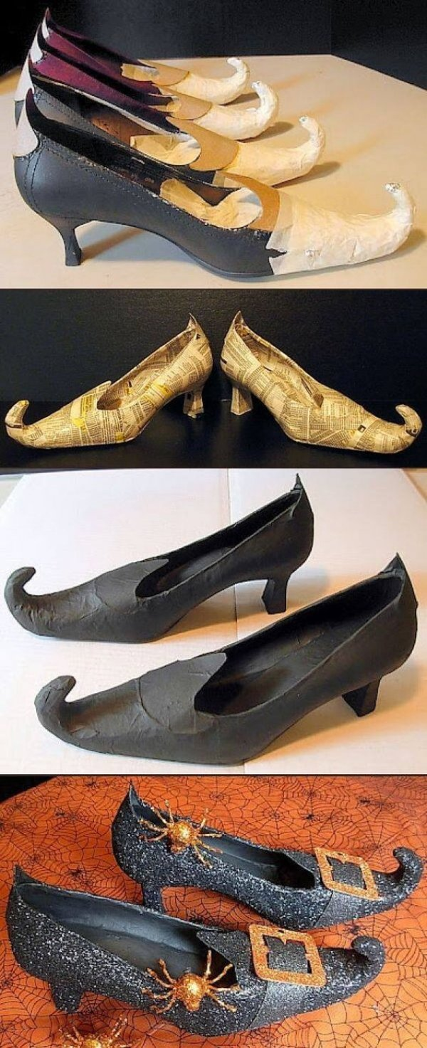 Tutorial for Witch shoes.