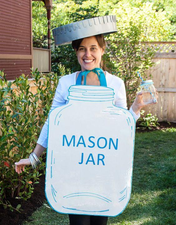 Ultimate mason jar DIY Halloween costume.